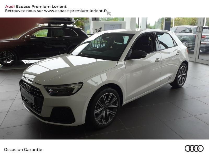 Audi A1 Sportback 25 TFSI 95ch Design Essence Blanc cortina Occasion à vendre