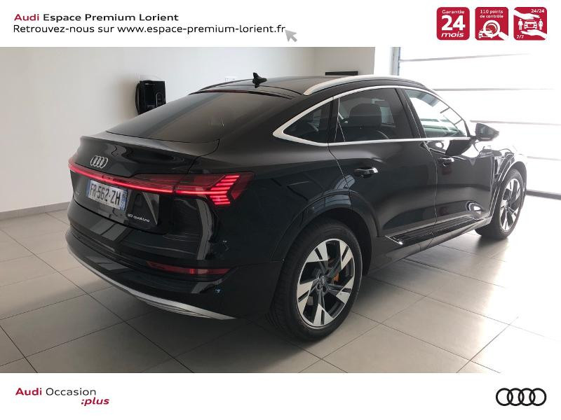 Photo 4 de l'offre de AUDI e-tron Sportback 50 230ch Avus Extended e-quattro 12cv à 74490€ chez Espace Premium – Audi Lorient