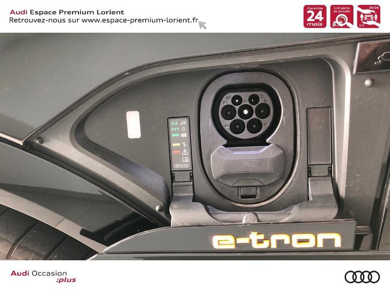 Photo 22 de l'offre de AUDI e-tron Sportback 50 230ch Avus Extended e-quattro 12cv à 74490€ chez Espace Premium – Audi Lorient