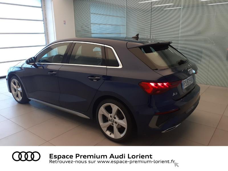 Photo 4 de l'offre de AUDI A3 Sportback 1.5 TFSI 150ch S line à 41990€ chez Espace Premium – Audi Lorient