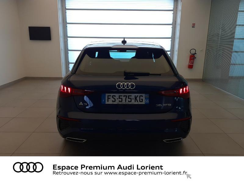 Photo 5 de l'offre de AUDI A3 Sportback 1.5 TFSI 150ch S line à 41990€ chez Espace Premium – Audi Lorient
