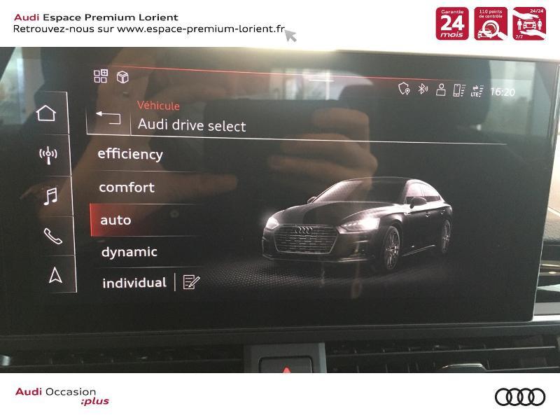 Photo 24 de l'offre de AUDI A5 Sportback 40 TFSI 190ch S line S tronic 7 Euro6d-T 132g à 49990€ chez Espace Premium – Audi Lorient