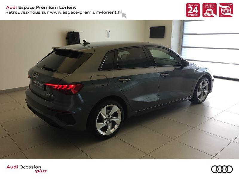 Photo 4 de l'offre de AUDI A3 Sportback 35 TDI 150ch S line S tronic 7 à 40990€ chez Espace Premium – Audi Lorient