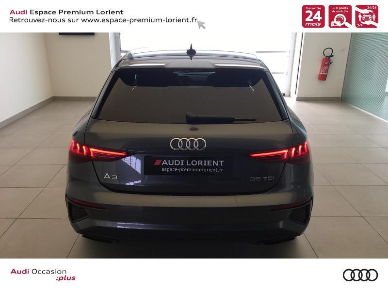 Photo 5 de l'offre de AUDI A3 Sportback 35 TDI 150ch S line S tronic 7 à 40990€ chez Espace Premium – Audi Lorient