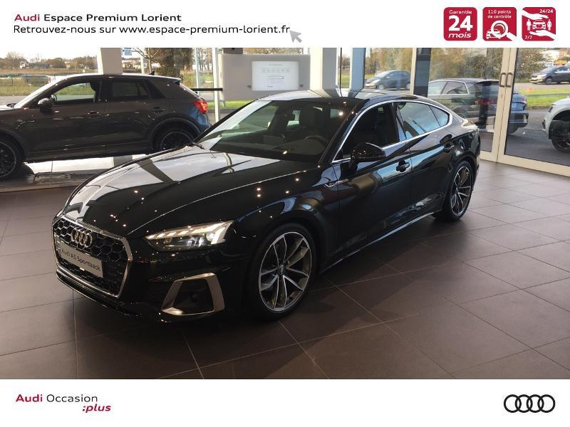 Photo 1 de l'offre de AUDI A5 Sportback 40 TFSI 190ch S line S tronic 7 Euro6d-T 132g à 49990€ chez Espace Premium – Audi Lorient