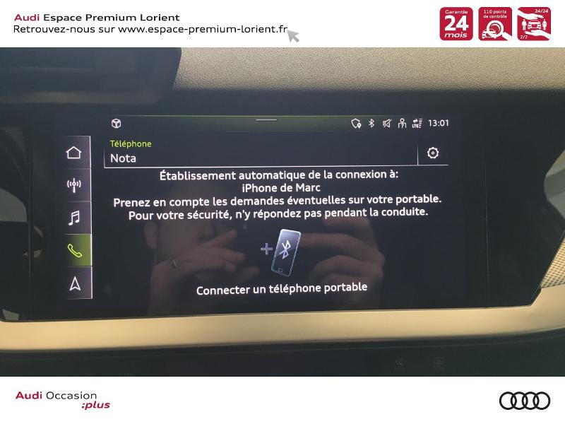Photo 23 de l'offre de AUDI A3 Sportback 35 TDI 150ch S line S tronic 7 à 40990€ chez Espace Premium – Audi Lorient