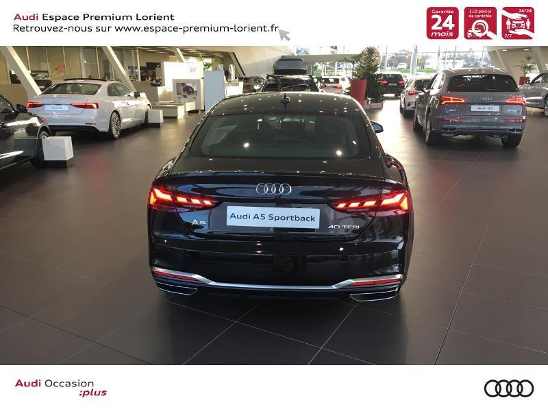 Photo 5 de l'offre de AUDI A5 Sportback 40 TFSI 190ch S line S tronic 7 Euro6d-T 132g à 49990€ chez Espace Premium – Audi Lorient