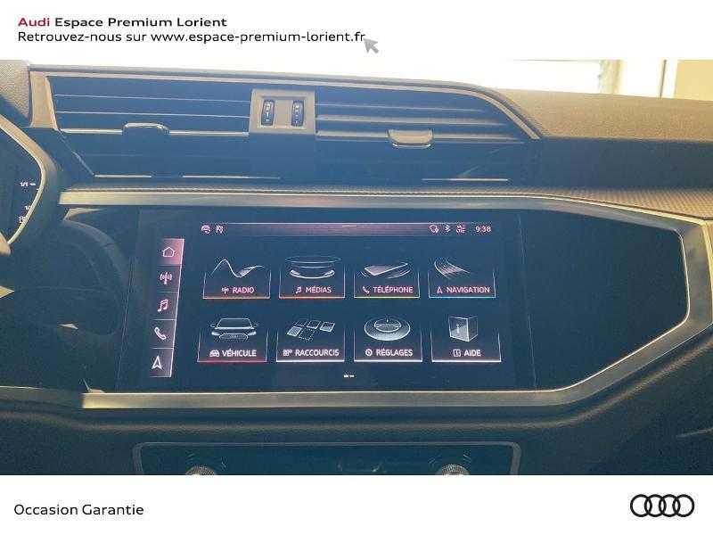 Photo 10 de l'offre de AUDI Q3 35 TFSI 150ch S line S tronic 7 à 37990€ chez Espace Premium – Audi Lorient