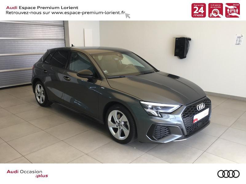 Photo 1 de l'offre de AUDI A3 Sportback 35 TDI 150ch S line S tronic 7 à 40990€ chez Espace Premium – Audi Lorient