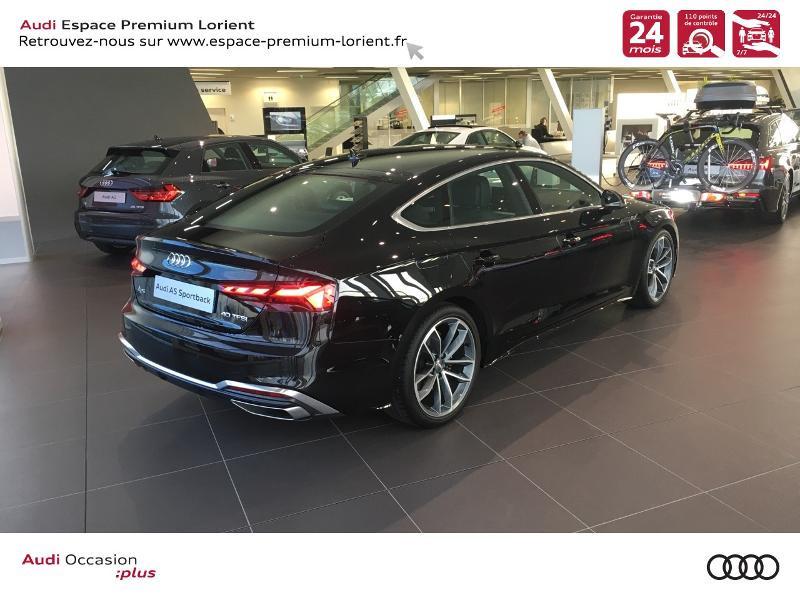 Photo 4 de l'offre de AUDI A5 Sportback 40 TFSI 190ch S line S tronic 7 Euro6d-T 132g à 49990€ chez Espace Premium – Audi Lorient