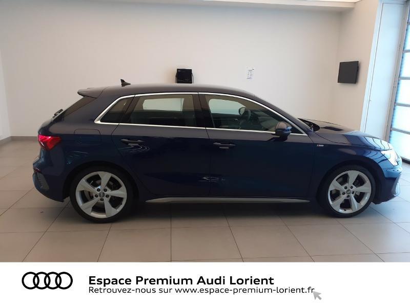 Photo 3 de l'offre de AUDI A3 Sportback 1.5 TFSI 150ch S line à 41990€ chez Espace Premium – Audi Lorient
