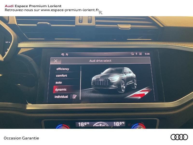 Photo 12 de l'offre de AUDI Q3 35 TFSI 150ch S line S tronic 7 à 37990€ chez Espace Premium – Audi Lorient