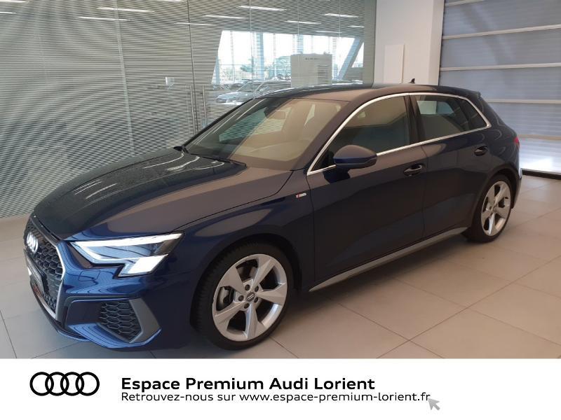 Photo 1 de l'offre de AUDI A3 Sportback 1.5 TFSI 150ch S line à 41990€ chez Espace Premium – Audi Lorient