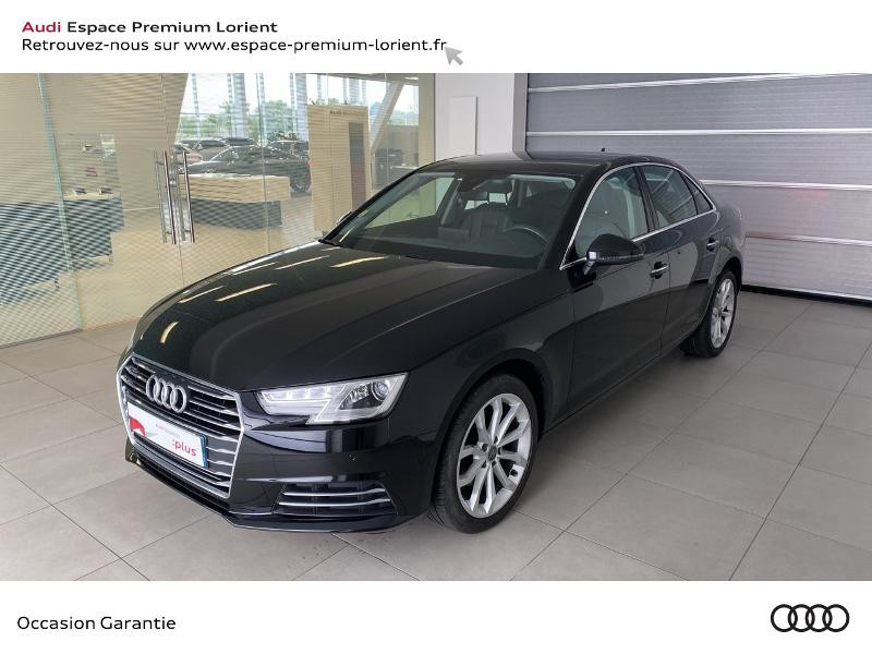 Audi A4 2.0 TDI 150ch Design Luxe Diesel NOIR MYTHIC Occasion à vendre