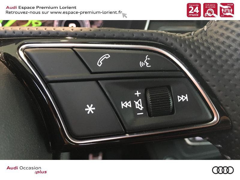 Photo 16 de l'offre de AUDI A5 Sportback 40 TFSI 190ch S line S tronic 7 Euro6d-T 132g à 49990€ chez Espace Premium – Audi Lorient