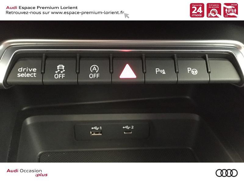 Photo 20 de l'offre de AUDI A3 Sportback 35 TDI 150ch S line S tronic 7 à 40990€ chez Espace Premium – Audi Lorient