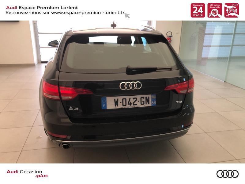 Photo 5 de l'offre de AUDI A4 Avant 2.0 TDI 150ch Sport S tronic 7 à 28990€ chez Espace Premium – Audi Lorient