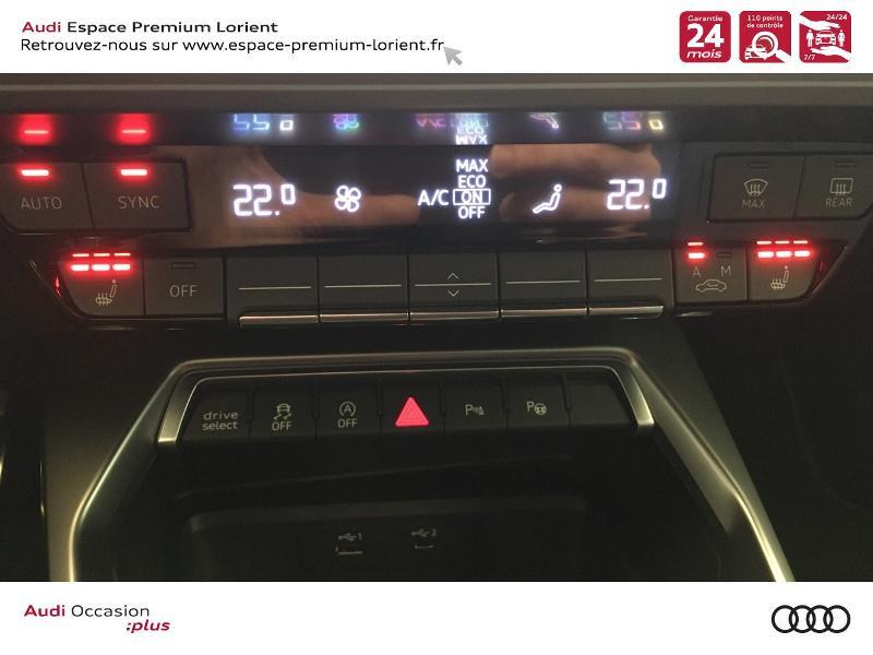 Photo 19 de l'offre de AUDI A3 Sportback 35 TDI 150ch S line S tronic 7 à 40990€ chez Espace Premium – Audi Lorient