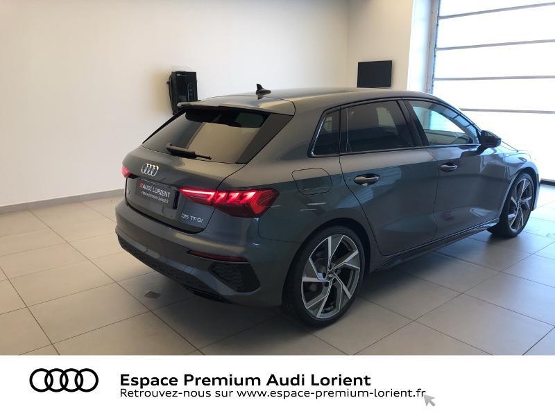 Photo 4 de l'offre de AUDI A3 Sportback 35 TFSI 150ch S line à 39990€ chez Espace Premium – Audi Lorient