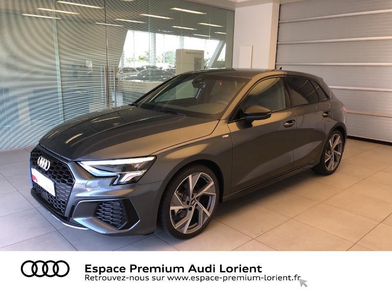 Photo 1 de l'offre de AUDI A3 Sportback 35 TFSI 150ch S line à 39990€ chez Espace Premium – Audi Lorient