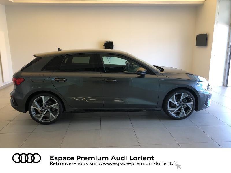 Photo 3 de l'offre de AUDI A3 Sportback 35 TFSI 150ch S line à 39990€ chez Espace Premium – Audi Lorient