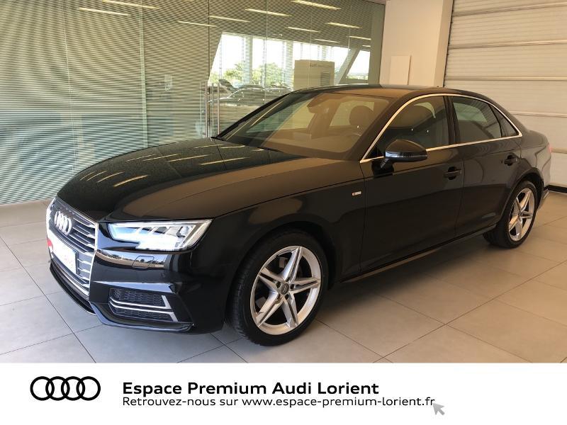 Audi A4 2.0 TFSI 190ch ultra S line S tronic 7 Essence NOIR MYTHIC Occasion à vendre