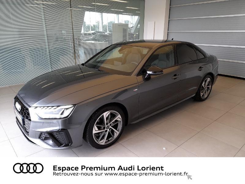 Audi A4 35 TDI 163ch S Edition S tronic 7 9cv Diesel GRIS DAYTONA NACRE Occasion à vendre