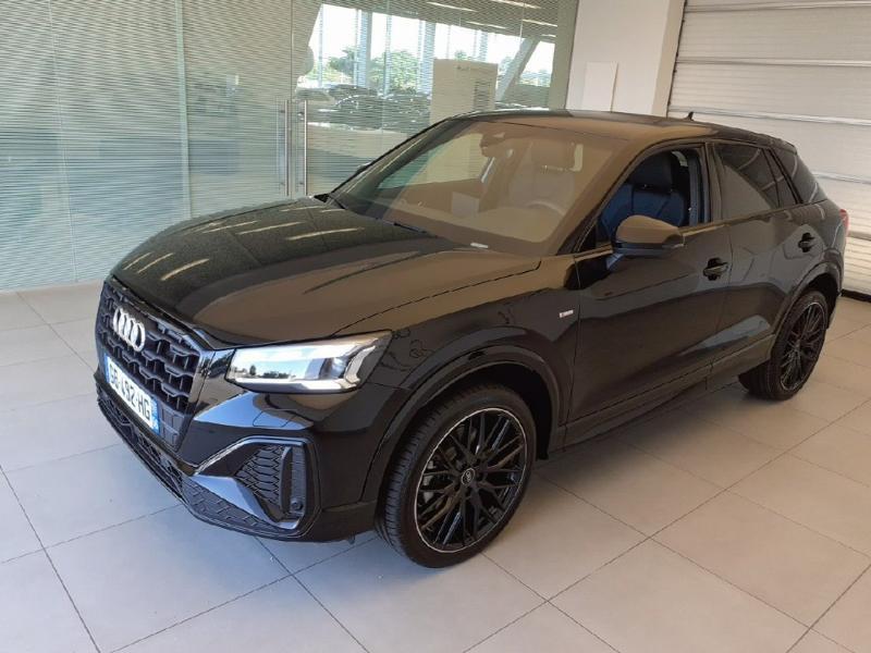 Audi Q2 35 TFSI 150ch S line Plus S tronic 7 Essence NOIR MYTHIC Occasion à vendre