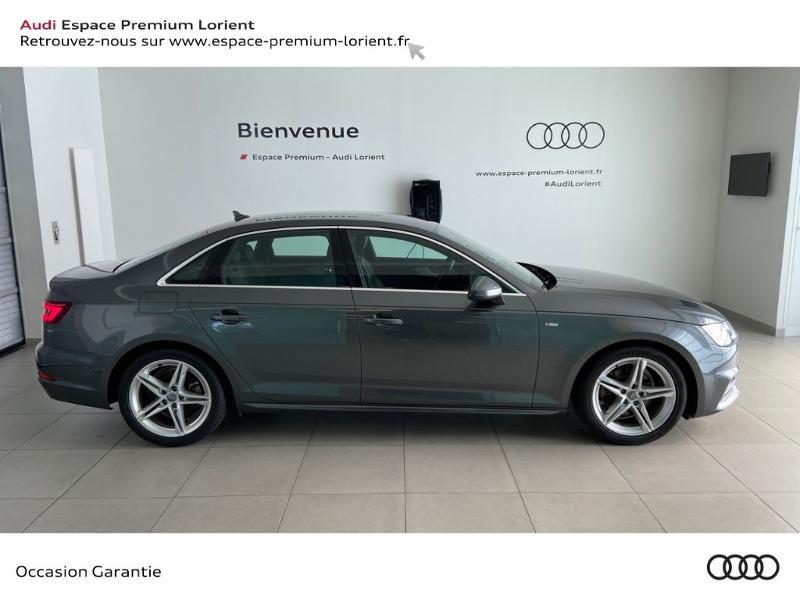 Photo 2 de l'offre de AUDI A4 2.0 TDI 150ch S line à 26990€ chez Espace Premium – Audi Lorient