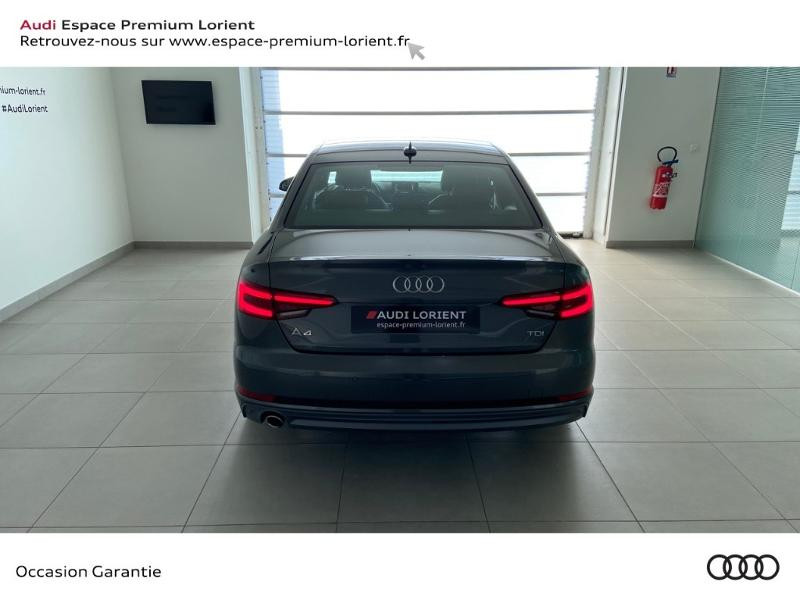 Photo 5 de l'offre de AUDI A4 2.0 TDI 150ch S line à 26990€ chez Espace Premium – Audi Lorient