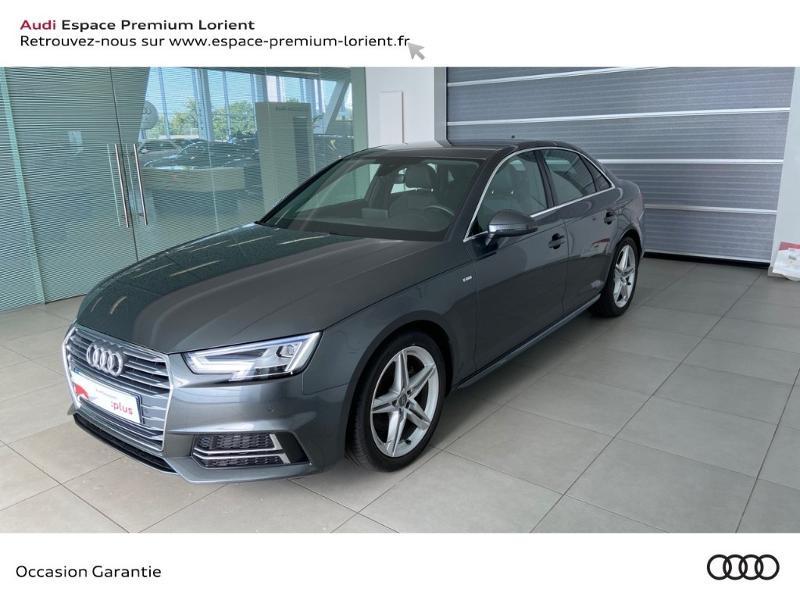 Photo 1 de l'offre de AUDI A4 2.0 TDI 150ch S line à 26990€ chez Espace Premium – Audi Lorient
