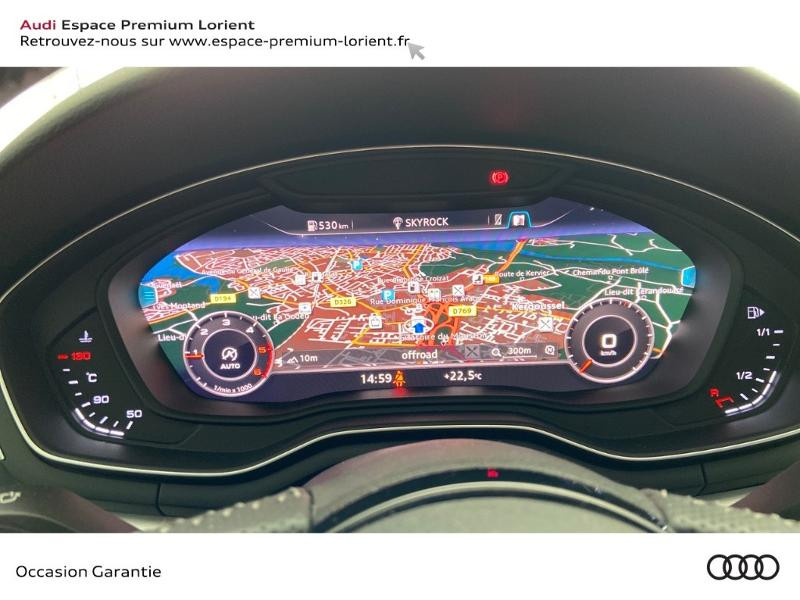 Photo 10 de l'offre de AUDI A4 2.0 TDI 150ch S line à 26990€ chez Espace Premium – Audi Lorient