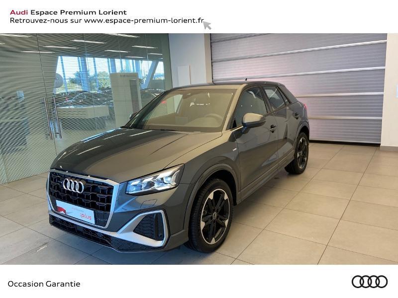 Audi Q2 35 TDI 150ch S line Plus quattro S tronic 7 Diesel GRIS DAYTONA NACRE Occasion à vendre