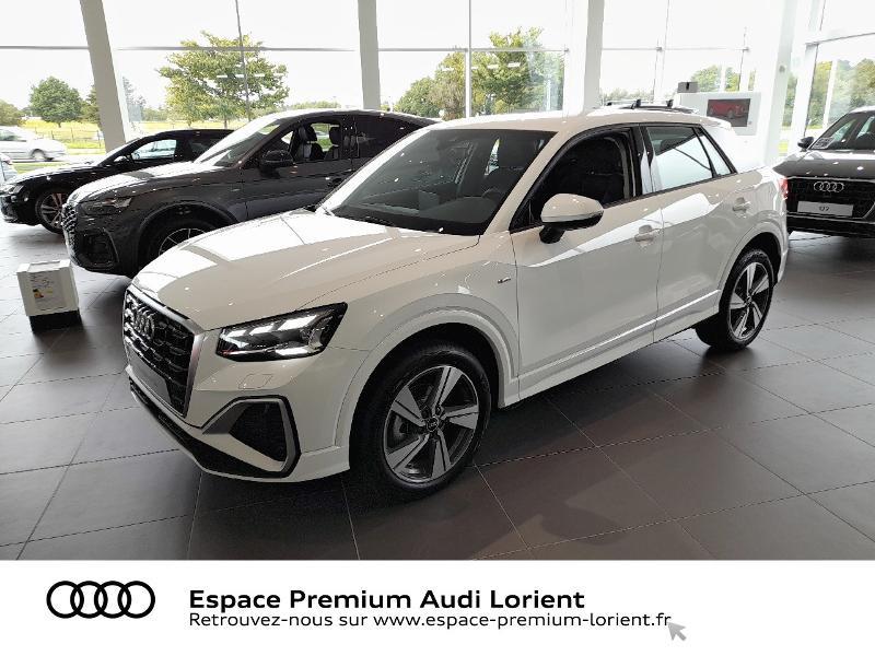 Audi Q2 30 TFSI 110ch Advanced Essence BLANC IBIS Occasion à vendre