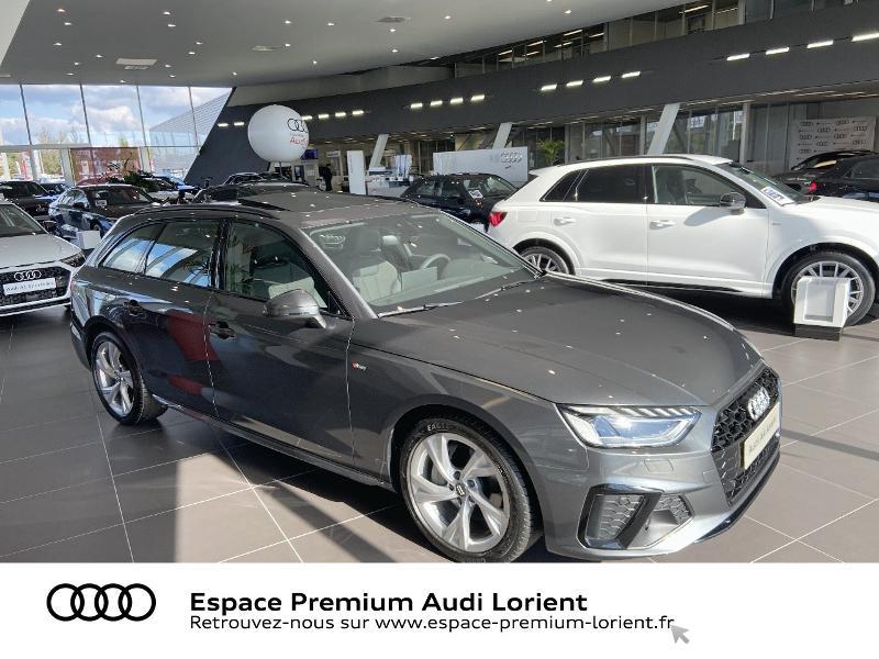 Audi A4 Avant 40 TDI 204ch S line S tronic 7 Diesel GRIS DAYTONA NACRE Occasion à vendre