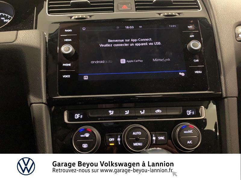 Photo 17 de l'offre de VOLKSWAGEN Golf 1.5 TSI EVO 150ch BlueMotion Technology Carat DSG7 5p à 22490€ chez Garage Beyou - Volkswagen Lannion
