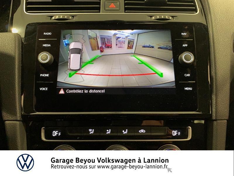 Photo 18 de l'offre de VOLKSWAGEN Golf 1.5 TSI EVO 150ch BlueMotion Technology Carat DSG7 5p à 22490€ chez Garage Beyou - Volkswagen Lannion