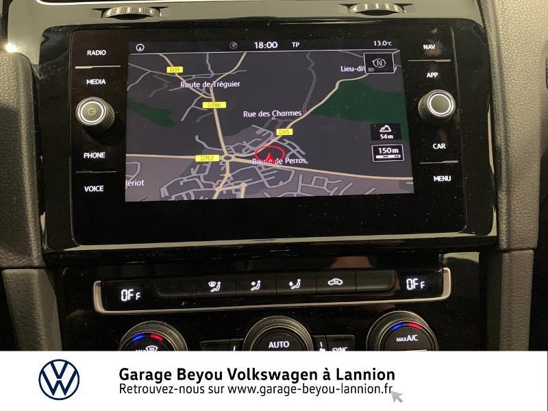 Photo 8 de l'offre de VOLKSWAGEN Golf 1.5 TSI EVO 150ch BlueMotion Technology Carat DSG7 5p à 22490€ chez Garage Beyou - Volkswagen Lannion