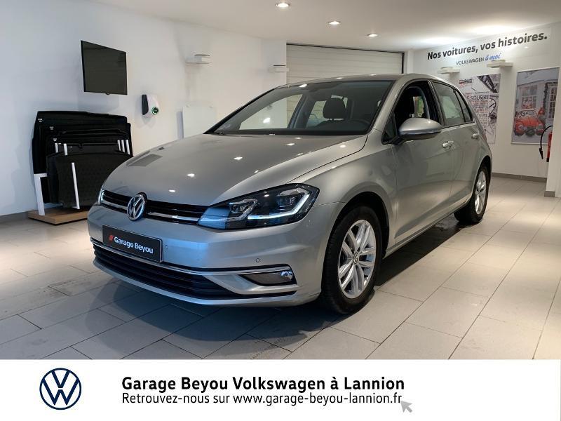Photo 1 de l'offre de VOLKSWAGEN Golf 1.5 TSI EVO 150ch BlueMotion Technology Carat DSG7 5p à 22490€ chez Garage Beyou - Volkswagen Lannion