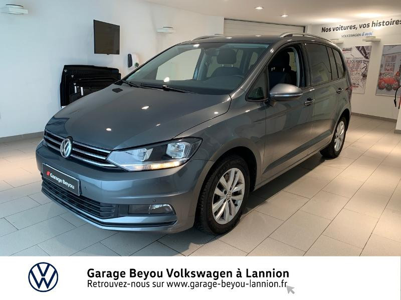 Volkswagen Touran 1.6 TDI 115ch BlueMotion Technology FAP Confortline Business DSG7 5 places Diesel gris indium Occasion à vendre