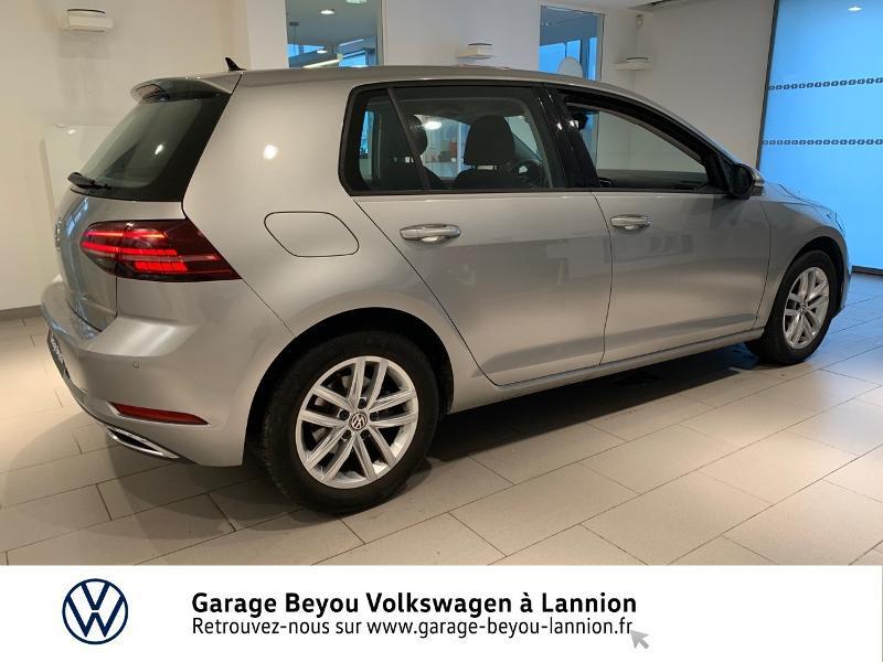 Photo 4 de l'offre de VOLKSWAGEN Golf 1.5 TSI EVO 150ch BlueMotion Technology Carat DSG7 5p à 22490€ chez Garage Beyou - Volkswagen Lannion