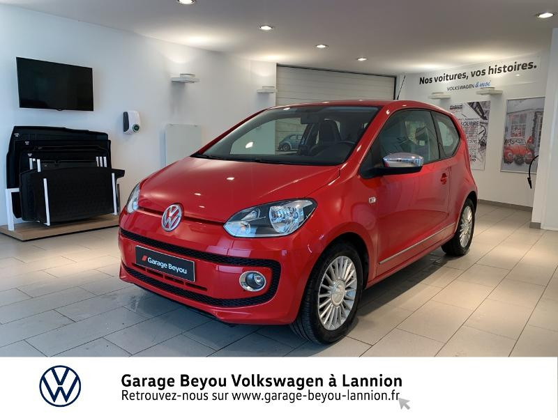 Volkswagen up! 1.0 60ch High up! 3p Essence ROUGE Occasion à vendre