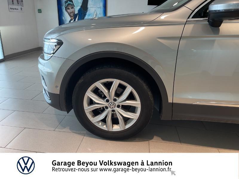 Photo 15 de l'offre de VOLKSWAGEN Tiguan 2.0 TDI 150ch Carat DSG7 à 28790€ chez Garage Beyou - Volkswagen Lannion