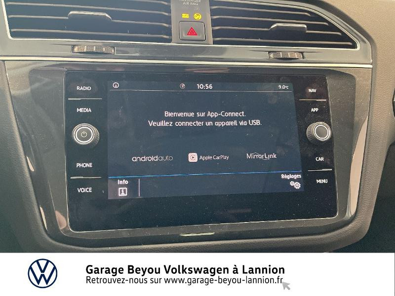 Photo 13 de l'offre de VOLKSWAGEN Tiguan 2.0 TDI 150ch Carat DSG7 à 28790€ chez Garage Beyou - Volkswagen Lannion