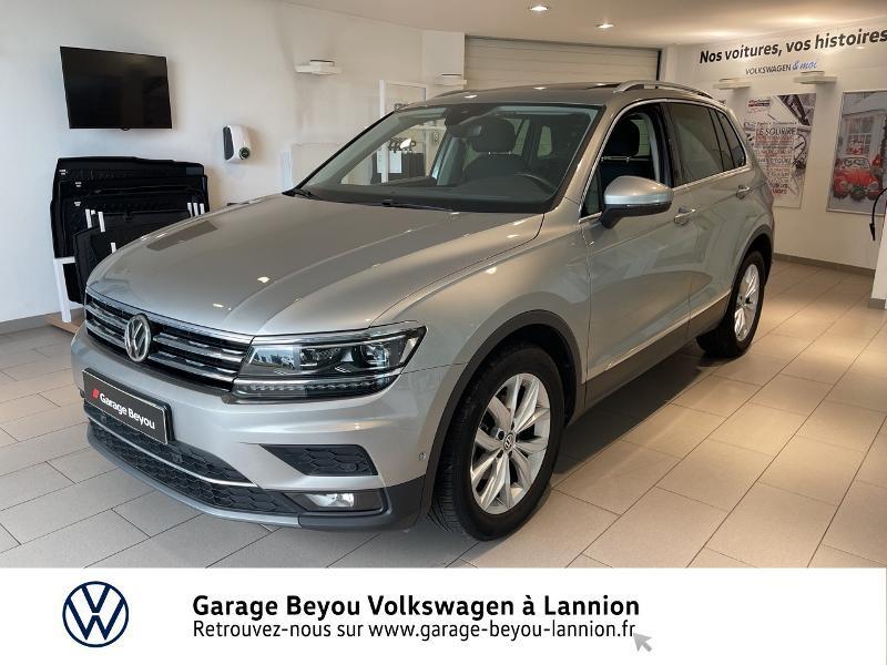 Photo 1 de l'offre de VOLKSWAGEN Tiguan 2.0 TDI 150ch Carat DSG7 à 28790€ chez Garage Beyou - Volkswagen Lannion