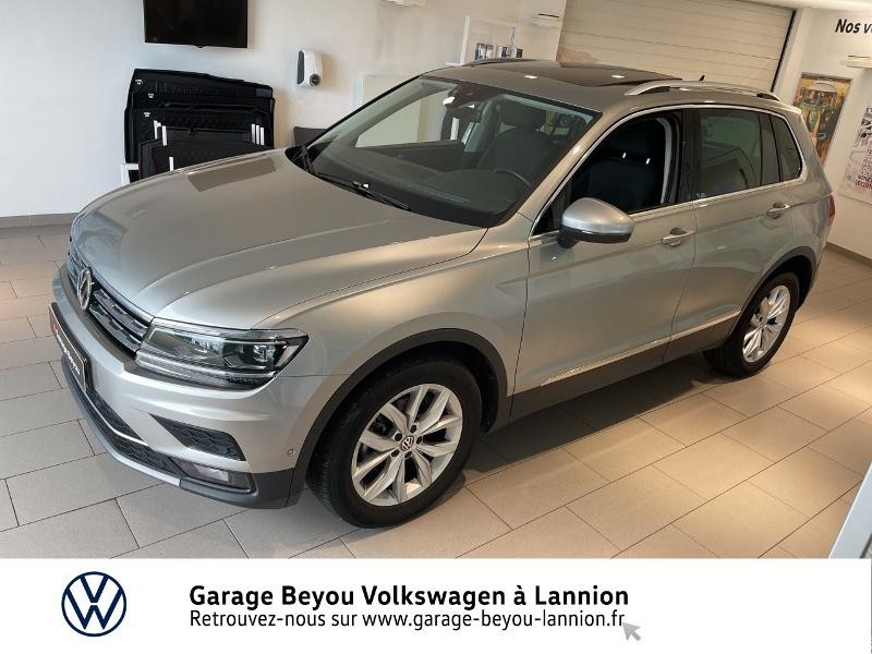 Photo 2 de l'offre de VOLKSWAGEN Tiguan 2.0 TDI 150ch Carat DSG7 à 28790€ chez Garage Beyou - Volkswagen Lannion