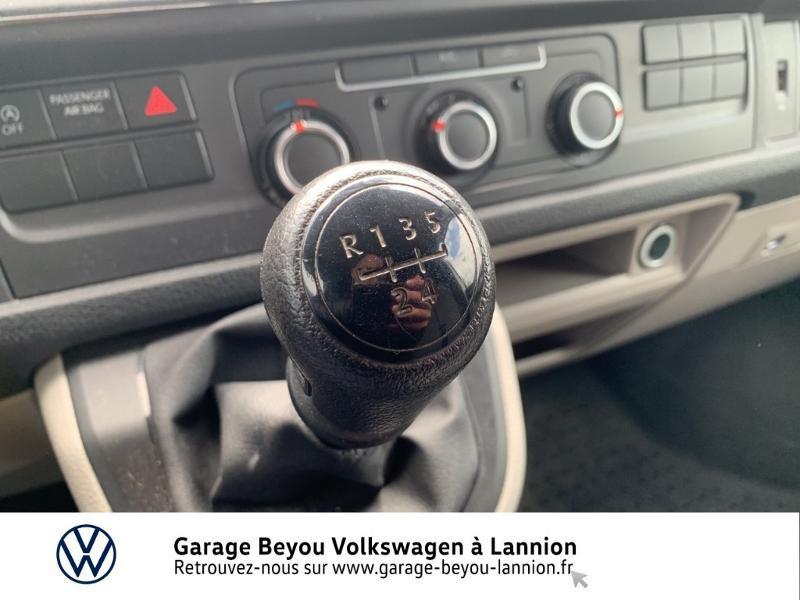 Photo 10 de l'offre de VOLKSWAGEN Transporter Fg 2.8T L1H1 2.0 TDI 114ch Business Line à 20990€ chez Garage Beyou - Volkswagen Lannion
