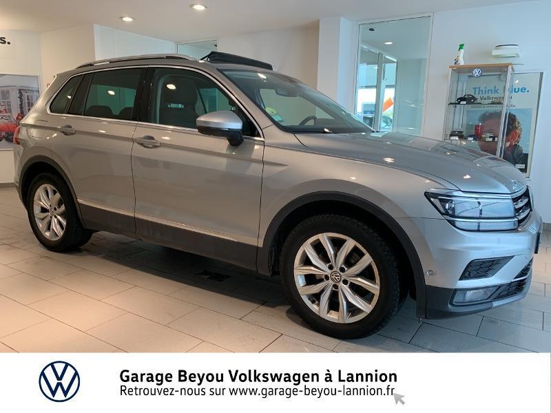 Photo 4 de l'offre de VOLKSWAGEN Tiguan 2.0 TDI 150ch BlueMotion Technology Carat DSG7 à 25990€ chez Garage Beyou - Volkswagen Lannion