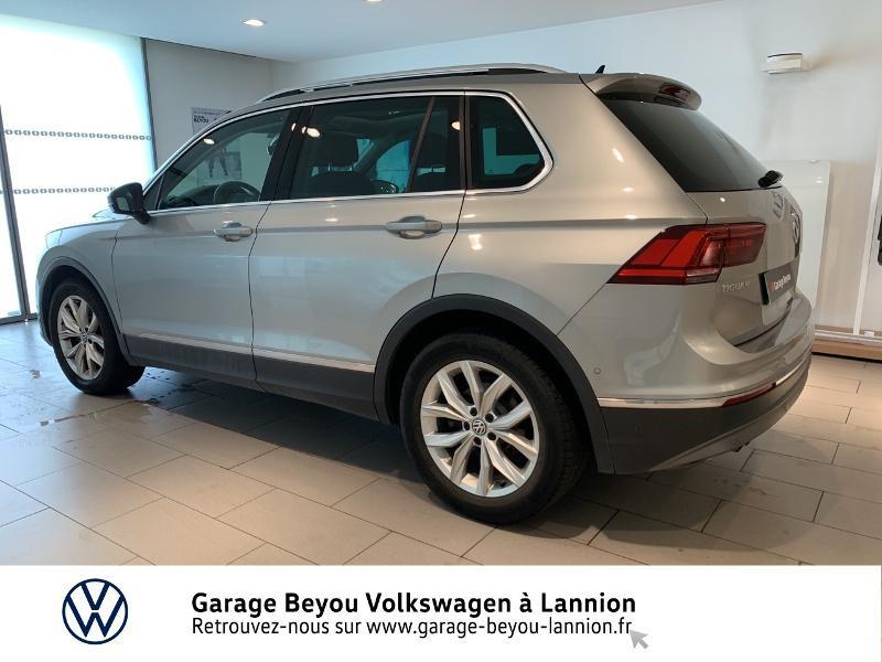 Photo 2 de l'offre de VOLKSWAGEN Tiguan 2.0 TDI 150ch BlueMotion Technology Carat DSG7 à 25990€ chez Garage Beyou - Volkswagen Lannion