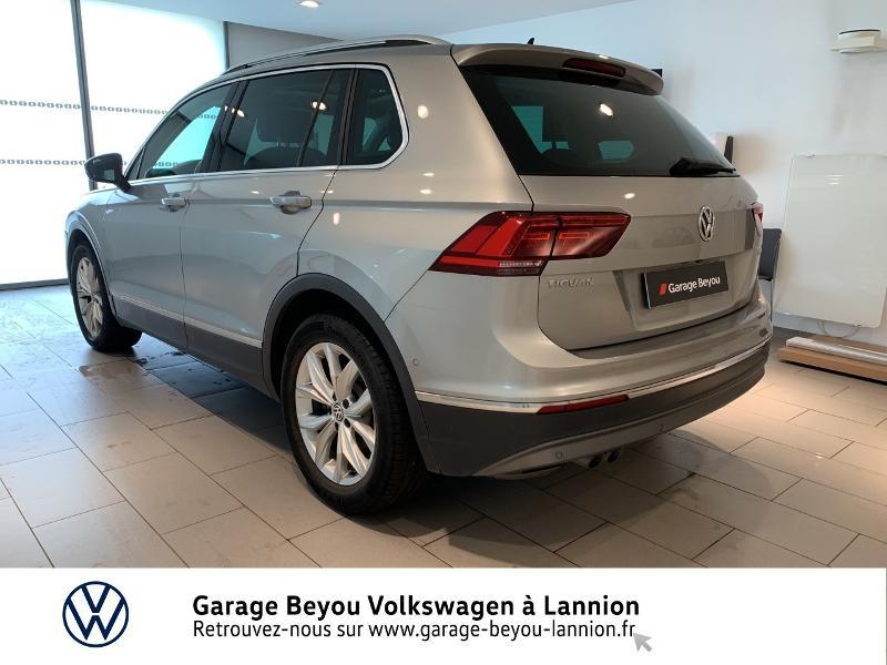 Photo 3 de l'offre de VOLKSWAGEN Tiguan 2.0 TDI 150ch BlueMotion Technology Carat DSG7 à 25990€ chez Garage Beyou - Volkswagen Lannion